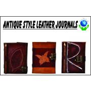 Antique Style Leather Journals